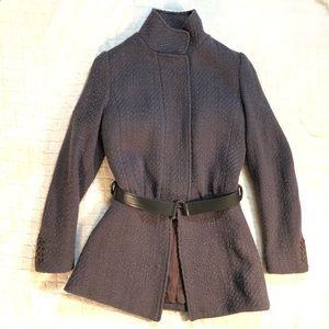 Helmut Lang Italian gray wool coat/ S (40)